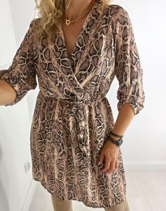 sukienka wężowa