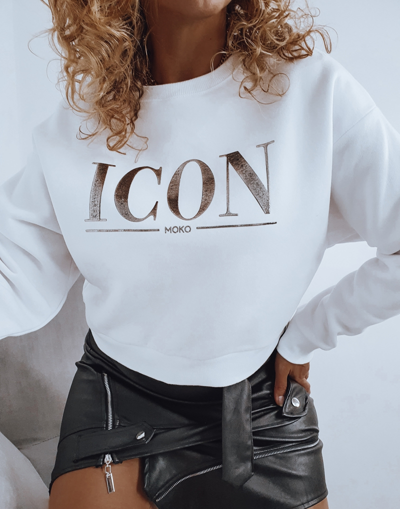 bluza biała icon