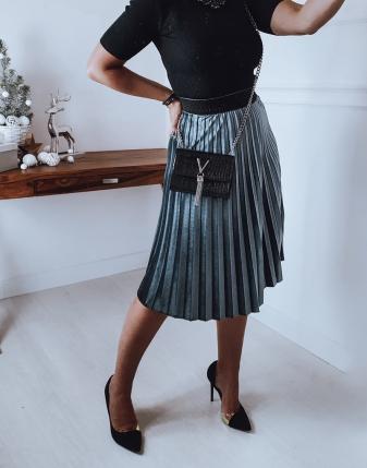 spódniczka plisowana velvet