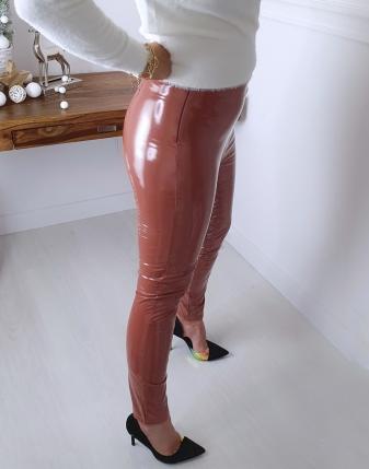 spodnie lateksowe camel