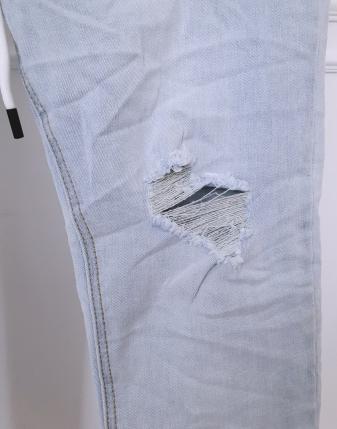 spodnie jeansowe na gumce w pasie lamaja butik