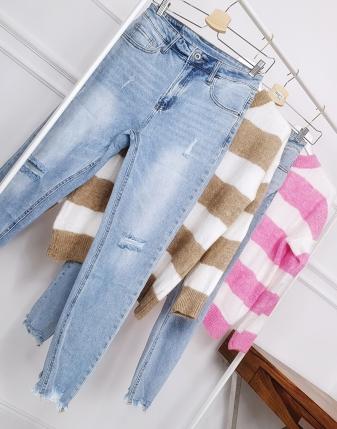 spodnie jeansowe lamaja butik