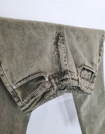 jeansy mom fit khaki