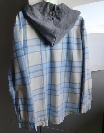 koszula flanelowa z kapturem lamaja 3