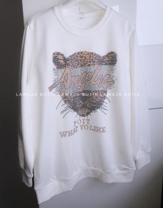 biła bluza dresowa z tygrysem lamaja butik 4