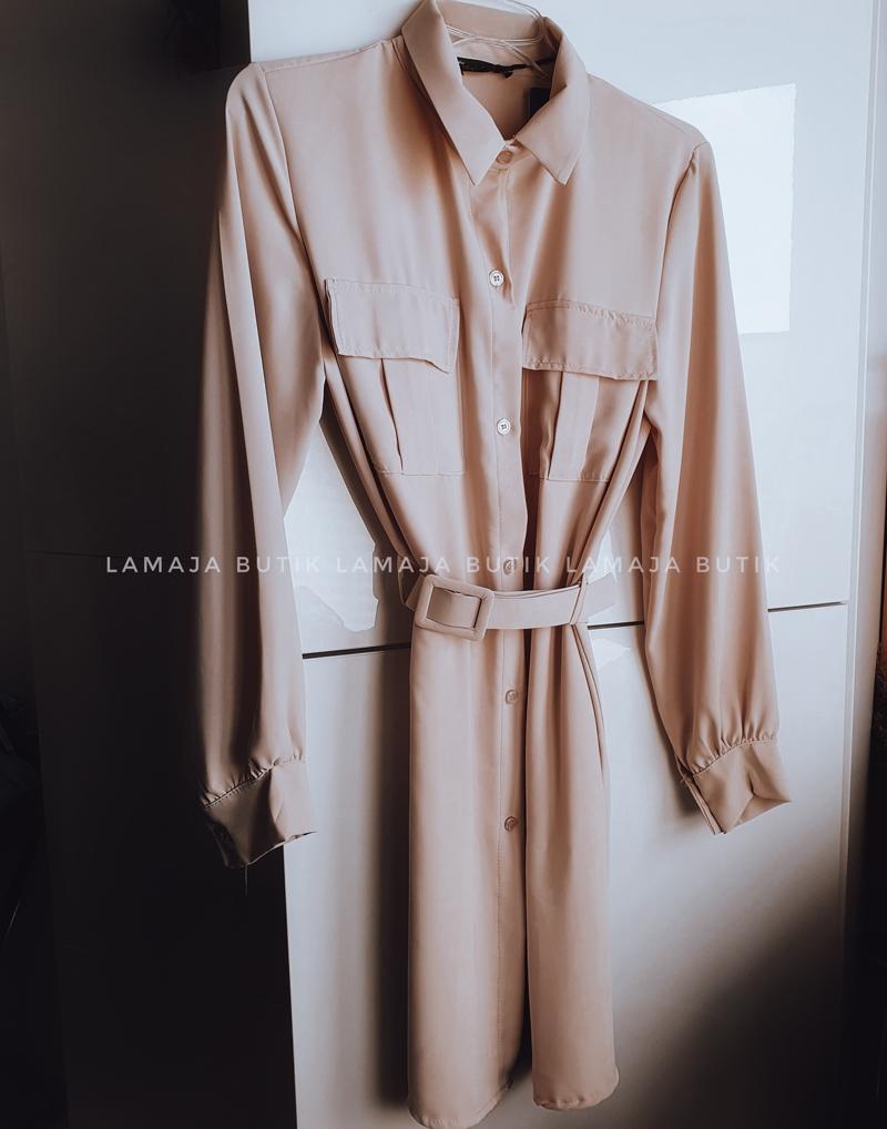 sukienka koszulowa szmizjerka damska lamaja butik