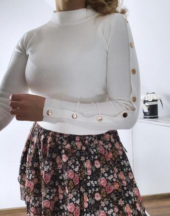 spódniczka mini w kwiatki3