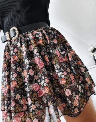 spódniczka mini w kwiatki 15