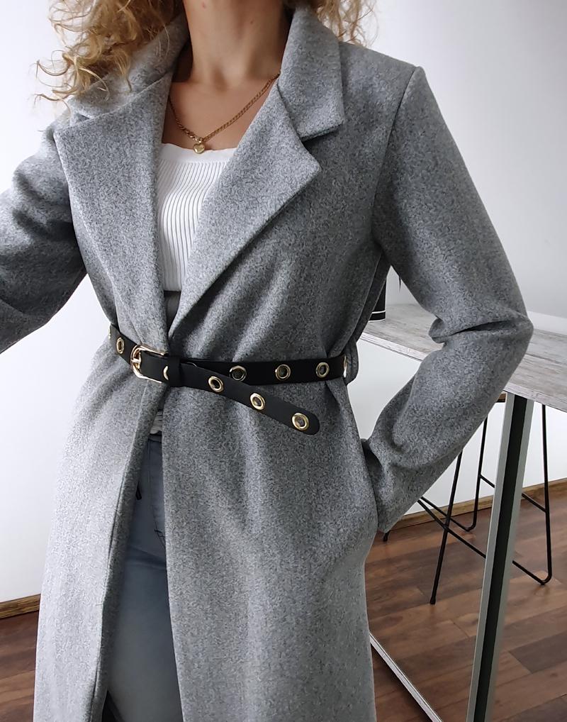 długi szary płaszcz  4