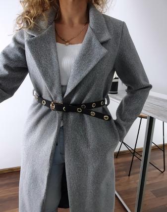 długi szary płaszcz 5