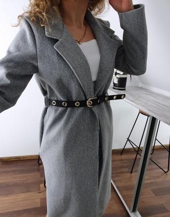długi szary płaszcz 6