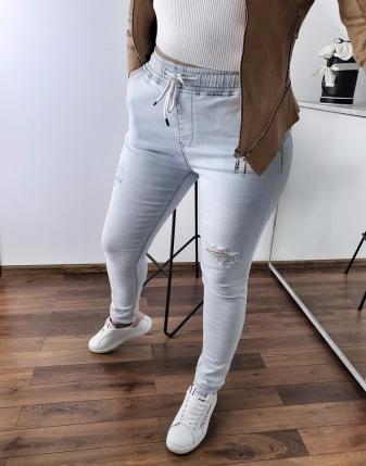spodnie jeansowe na gumce 17
