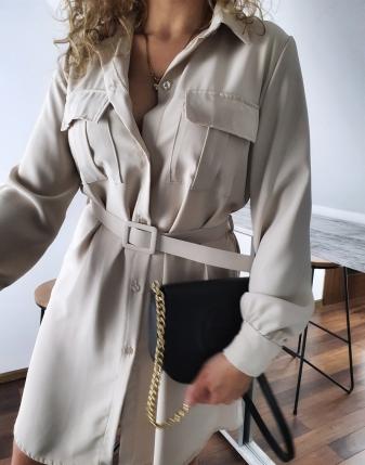 sukienka koszulowa szmizjerka damska lamaja butik 21