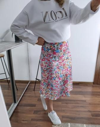 spódnica satynowa w kwiaty francesca lamaja 5