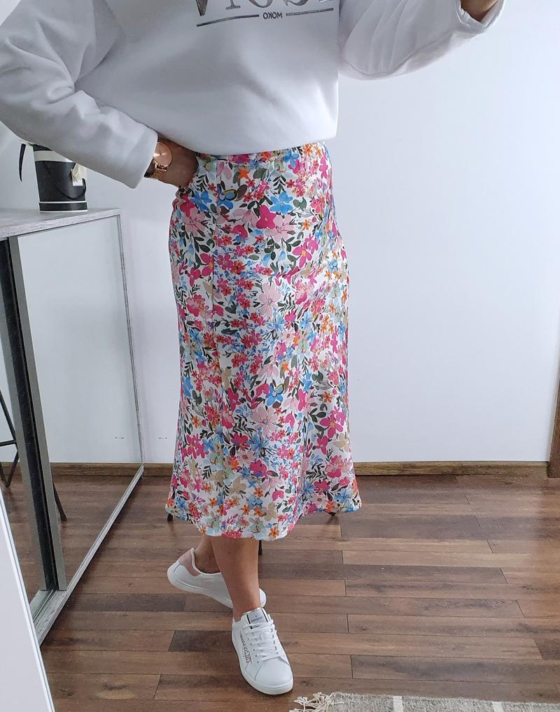 spódnica satynowa w kwiaty francesca lamaja 12