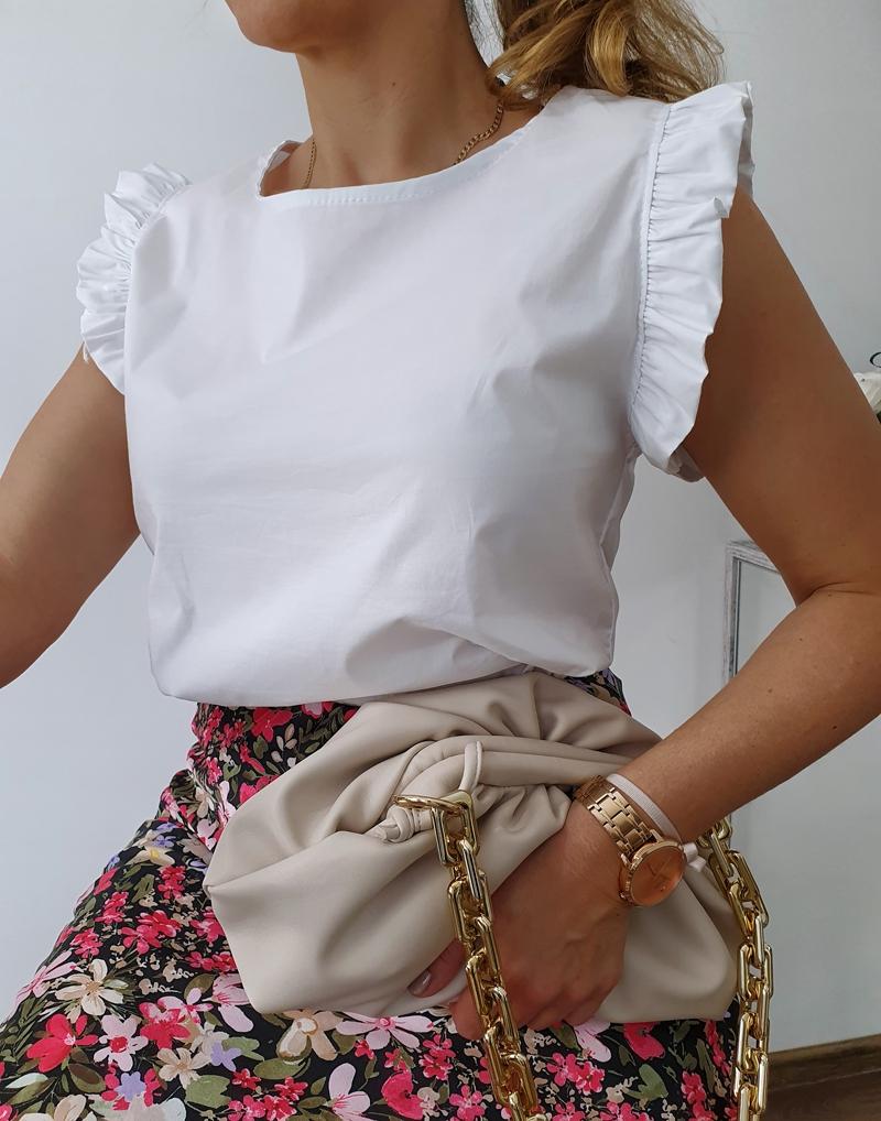 bluzka płócienna biała 11