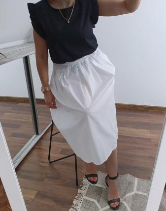 biała spódnica bawełniana 3