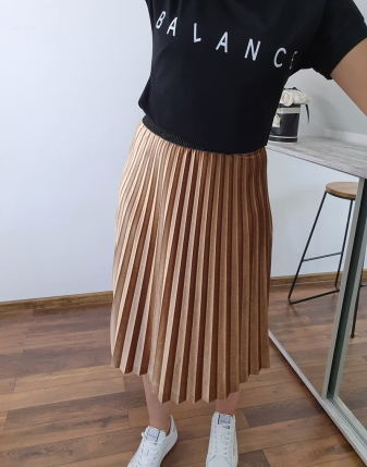 T-shirt czarny balance