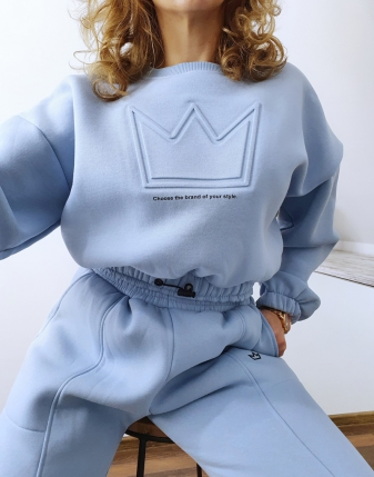 niebieski dres z koroną 4