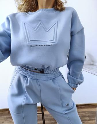 niebieski dres z koroną 5