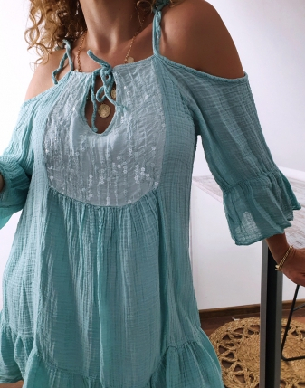 Sukienka muślinowa Maldives 2
