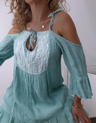 Sukienka muślinowa Maldives 4
