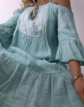 Sukienka muślinowa Maldives 6