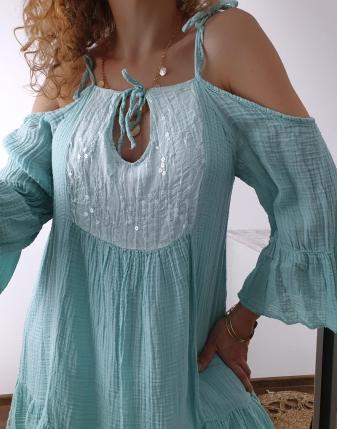 Sukienka muślinowa Maldives 8