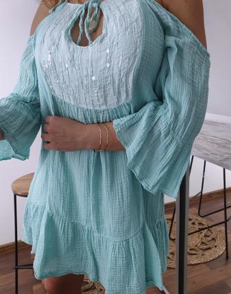 Sukienka muślinowa Maldives 10