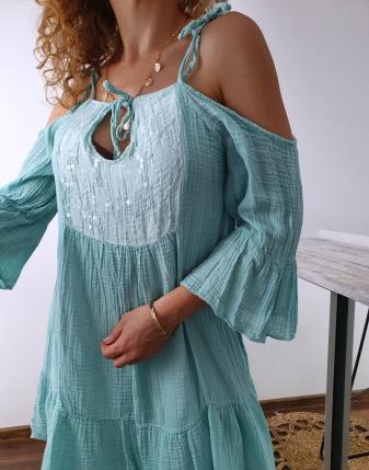 Sukienka muślinowa Maldives 11