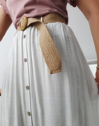 Spódnica z guzikami A'la...