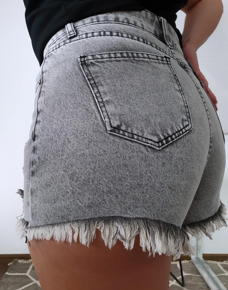 jeansowe krótkie spodenki 1