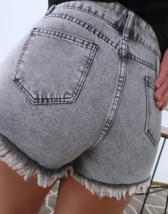 jeansowe krótkie spodenki 6