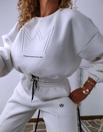 dres biały z koroną  3