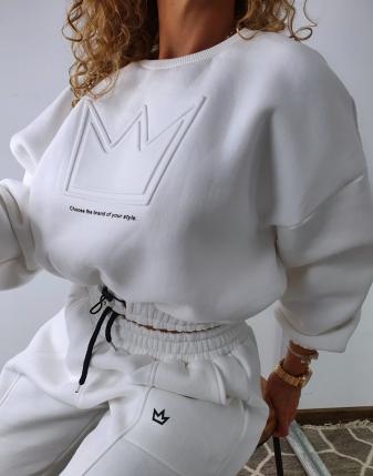 dres biały z koroną  5
