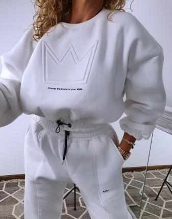dres biały z koroną  11