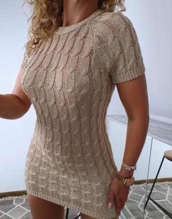 złota sukienka gołe plecy 1