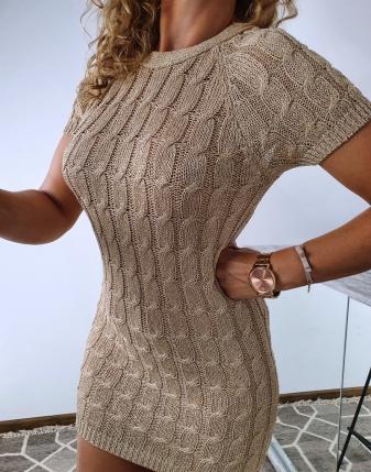 złota sukienka gołe plecy 3