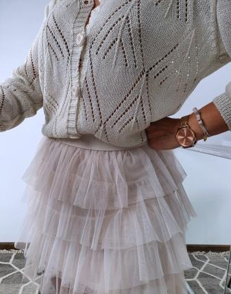 sweterek ażurowy rozpinany 6