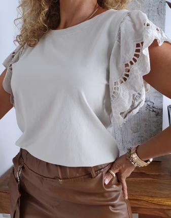 bluzka motylek haftowana  3