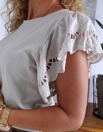 bluzka motylek haftowana  5