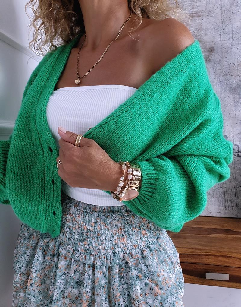 sweter oversize zielony 6 2
