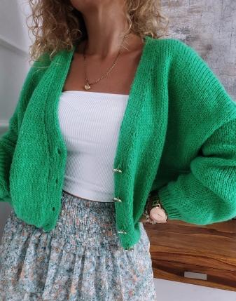 sweter oversize zielony 6 3