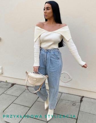 spodnie jeans slouchy