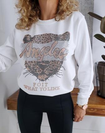 biła bluza dresowa z tygrysem lamaja butik 3 2
