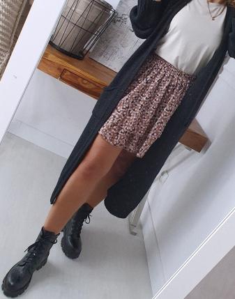 długi sweter czarny 4