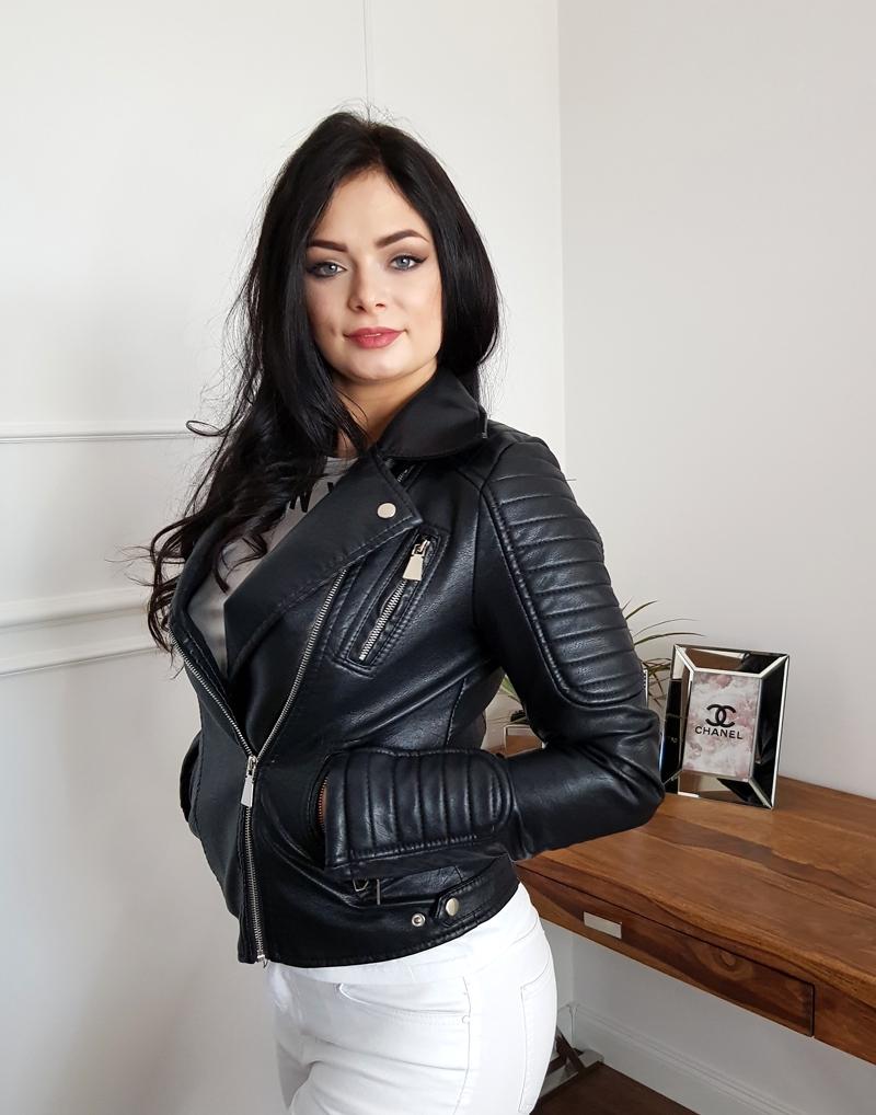 Ramoneska damska biker