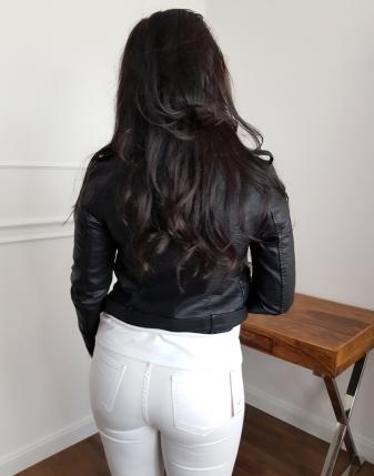ramoneska damska czarna