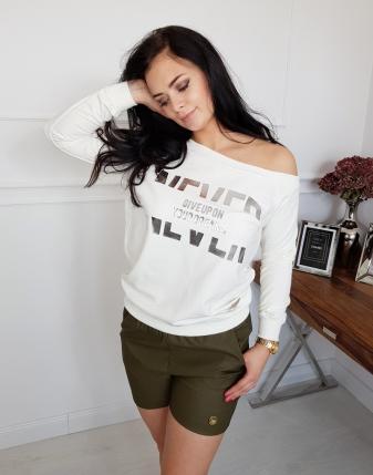 bluza biała