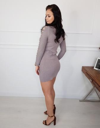 sukienka dopasowana